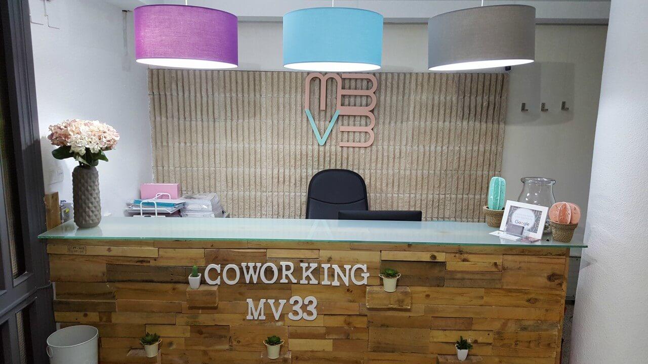mv33 coworking espacio de trabajo alicante planes y precios recepcion 1