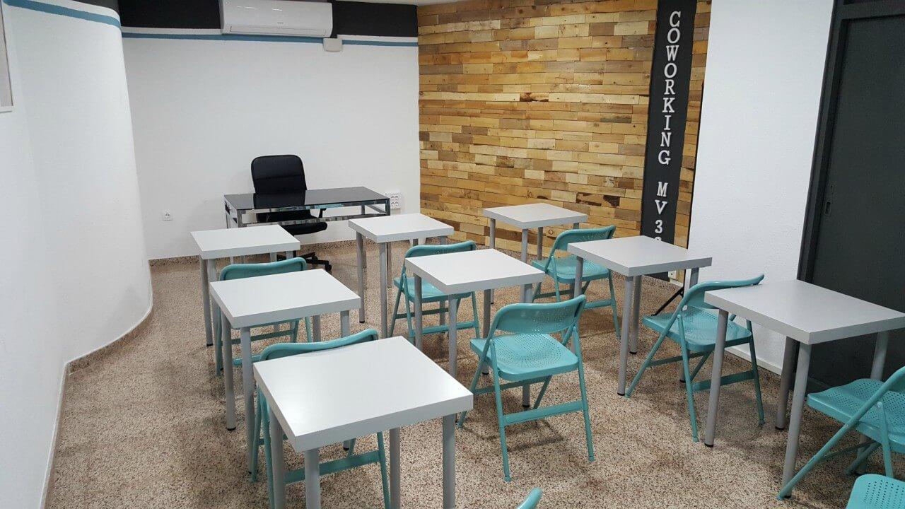 mv33 coworking espacio de trabajo alicante planes y precios sala formacion 1